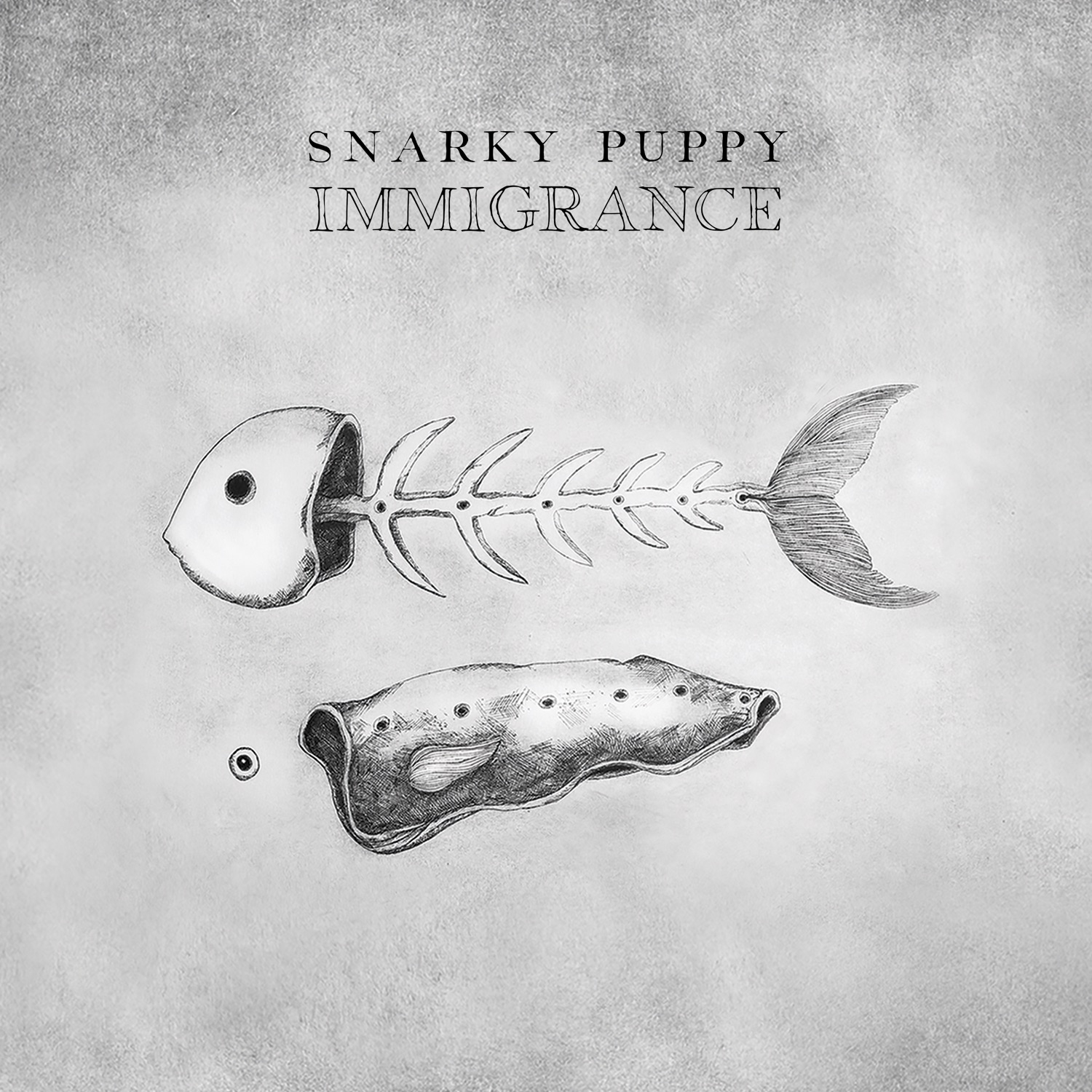 Cover art for Snarky Puppy's release 'Immigrance'
